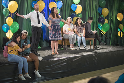 A scene from In the Heights performed at Convocation August 19, 2019.