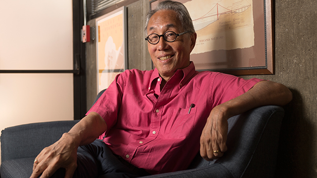 Michael Woo, who is retiring after 10 years, is the College of Environmental Design's second-longest-serving dean.