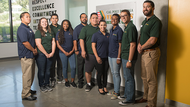 Student members of the Veterans Resource Center who will lead discussions on California and the American War Experience.
