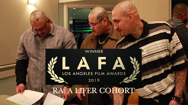 """Parolees in """"RA: A Lifer Cohort"""" documentary."""