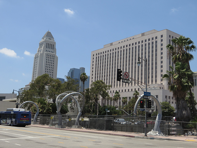 The U.S. District Court of Southern California is where Mendez v. Westminster was heard. The case brought to light the unjust treatment of children of Mexican descent. Photo courtesy of Ken Lund.