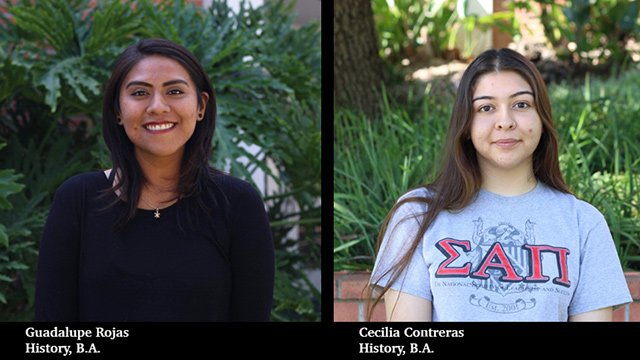 Cal Poly Pomona graduates Guadalupe Rojas and Cecilia Contreras will serve as interns in the Library of Congress in Washington D.C.
