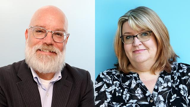 Kevin Colaner and Sonja Sanders