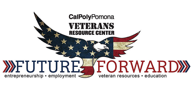 Future forward event logo with eagle