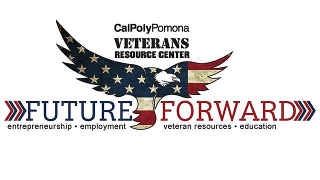 Future forward event logo with eagle