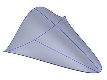 rendering of glide vehicle.