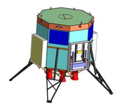 Rendering of crew module