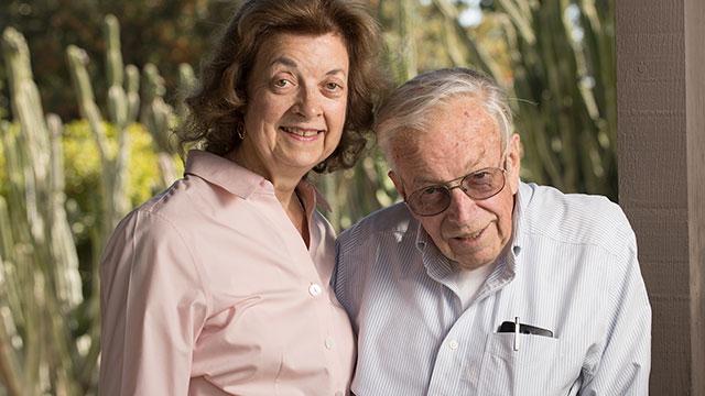 Mary and Jack O'Neil