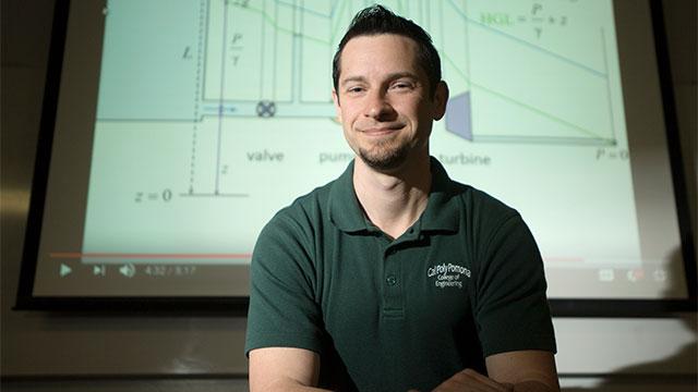 Assistant Professor Paul Nissenson
