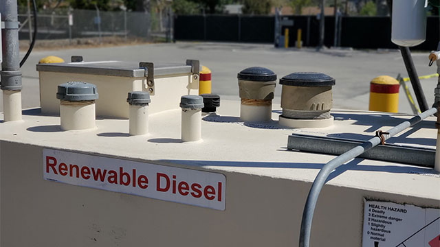 Renewable Diesel generator.