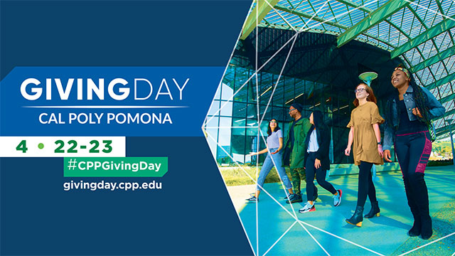 Giving Day Graphic with text: April 22-23