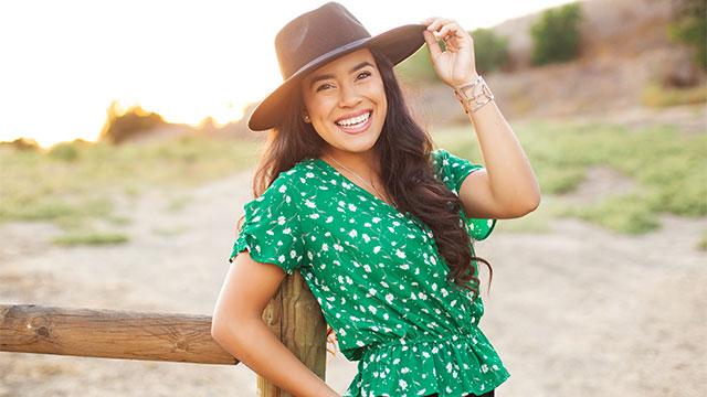 Lauren Ruiz Smiling