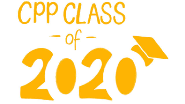 Giphy with the text CPP Class of 2020