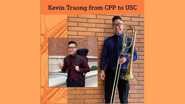 Kevin Truong from the Music Department