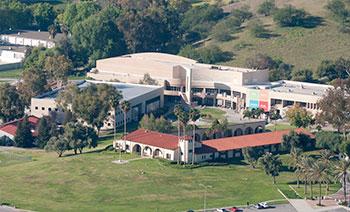 Arial Shot of campus.