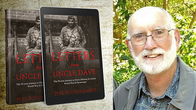 """Letters from Uncle Dave"" book and Phil Rosenkrantz"