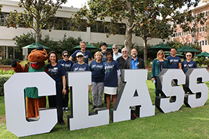 CLASS faculty and staff pose for a photo.